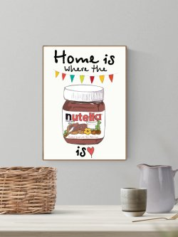 A4-Home Is Where the Nutella Is