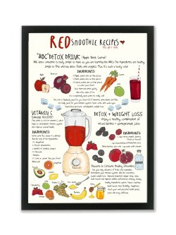 A4-Red Smoothie