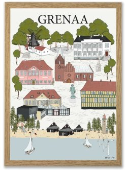 Grenaa By Plakat A3