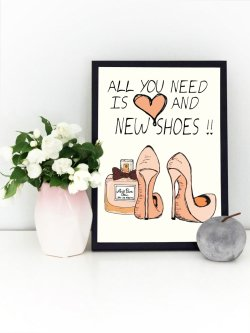 A4-All You Need Is Love and New Shoes