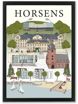 A4-Horsens By Poster