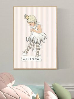 A4-Little ballet girl