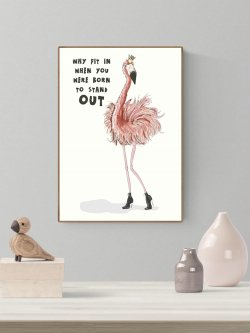 A4-Flamingo Born to stand out