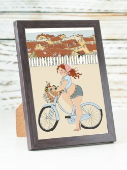 A6- Rosie - bicycle picnic