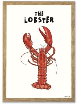 The Lobster A3 plakat