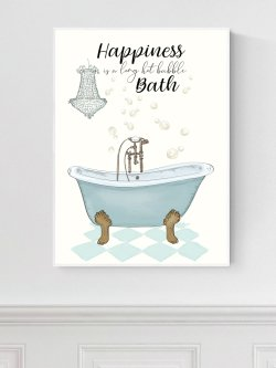 A4-Happiness is a hot Bath
